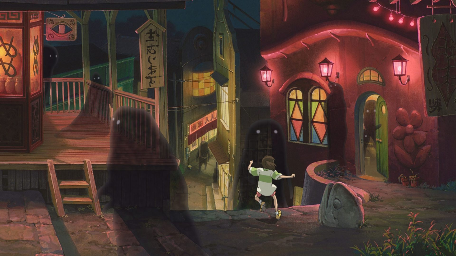 La città incantata - studio Ghibli's background.