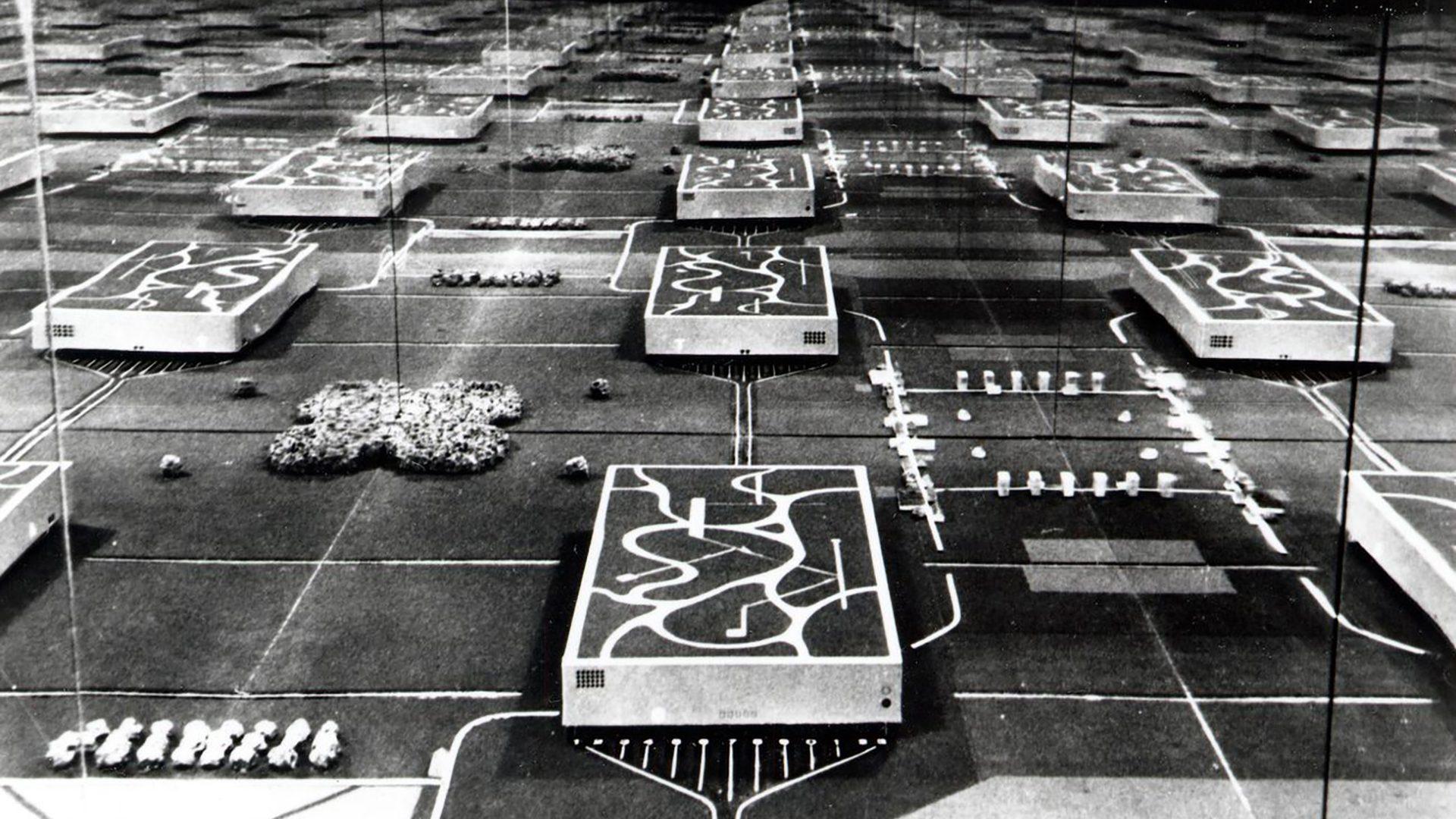 Archizoom Associati, No-Stop City, 1970. © Studio Branzi