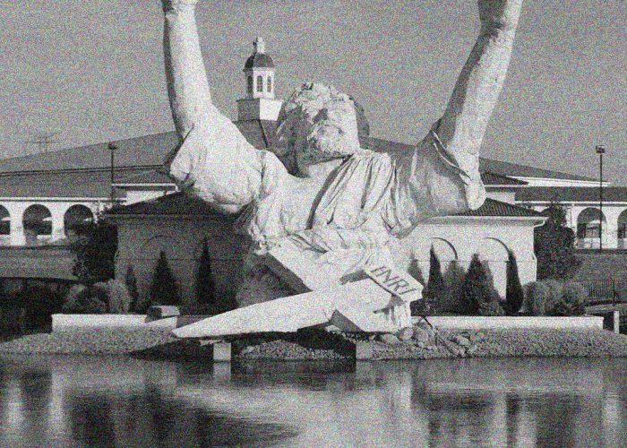 statua di gesu in ohio